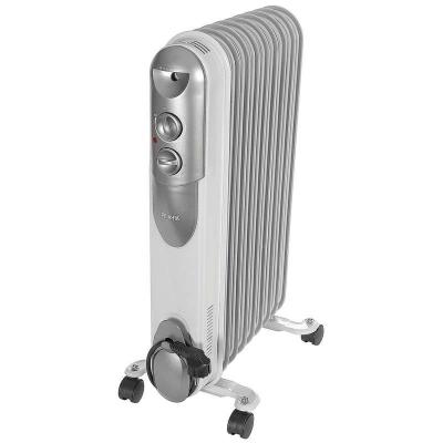 Радиатор масляный Ресанта ОМПТ-9Н (9 секций, 2 кВт, серый)