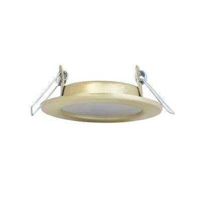 Светильник потолочный LED Montana 51 06 04 4000 K золото ИТАЛМАК