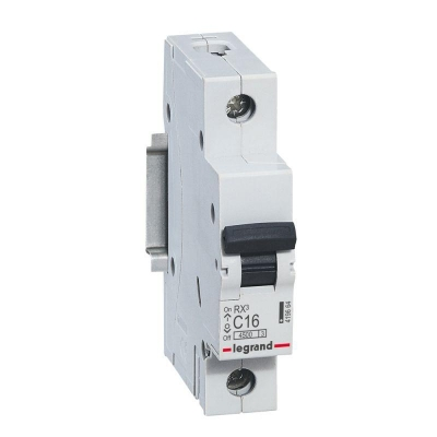 Выключатель автоматический модульный 1П С 16А 4.5 кА RX3 Legrand