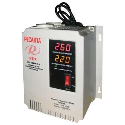 Стабилизатор напряжения Ресанта LUX АСН-2000Н/1-Ц