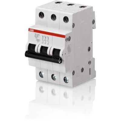 Выключатель автоматический модульный 3П С 25А 4.5 кА SH203L ABB