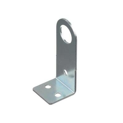 Проушина (пробой-ушко) гнутая 30х75 мм цинк (2 шт)