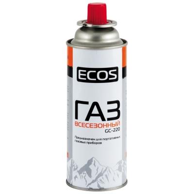 Баллон газовый 220гр портативный Экос GC-220