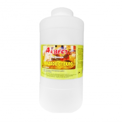 Жидкое стекло натриевое морозостойкое Аквест, 3.5 кг