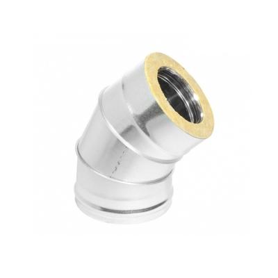 Отвод 45° ОТ-Р (AISI 430, 0.5 мм) d-115/180 мм