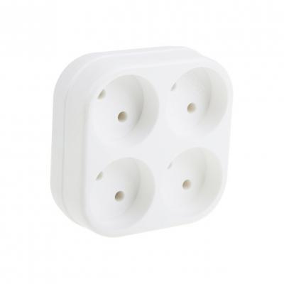Четверник TOKER 4T, 6А белый