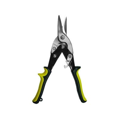 Ножницы по металлу CrV 240 мм прямые Мастер BIBER