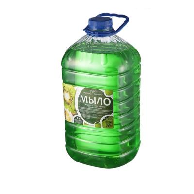 Мыло жидкое с глицерином с ароматом киви Вкусная Косметика 5 л