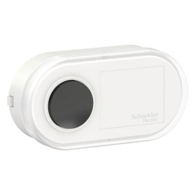 Кнопка звонка проводная 1-кл. ОП Blanca 0.4А IP20 250В бел. SchE BLNKA000011