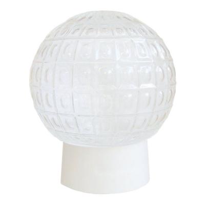 Светильник НББ 64-60-080 Цветочек d150 мм шар стекло матовое, прямое основ. 60 Вт Элетех