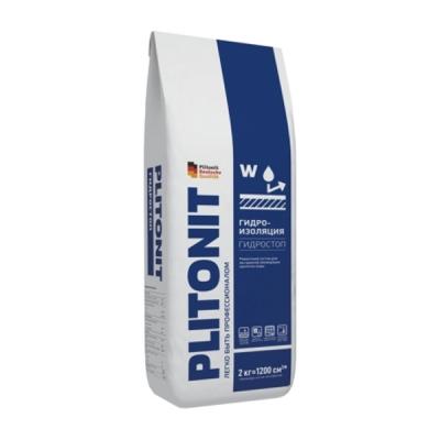 Гидроизоляция PLITONIT АкваБарьер ГидроСтоп, 2 кг