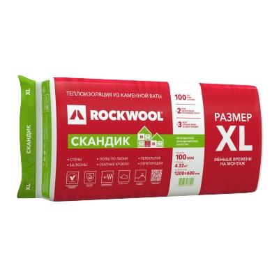 Утеплитель ROCKWOOL Лайт Баттс Скандик XL 100х600х1200 мм (4.32 м²)