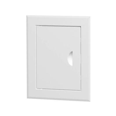 Люк-дверца ревизионный металлический 300х400 мм белый