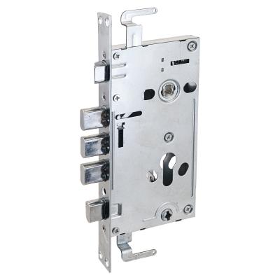 Корпус замка универсальный для китайских дверей ЗВ1-09СТ Стандарт хром