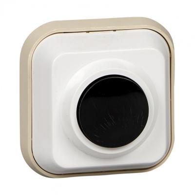 Выключатель кнопочный 250В 0.4А для электрозвонков DIY SchE A1-04-011-I
