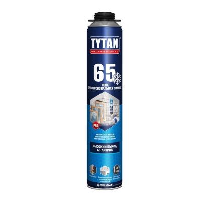 Пена монтажная Tytan Professional 65 профессиональная зимняя 750 мл