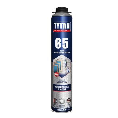 Пена монтажная Tytan Professional 65 профессиональная 750 мл