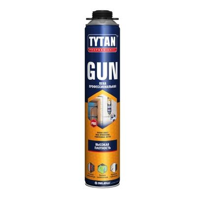 Пена монтажная Tytan Professional GUN профессиональная 750 мл