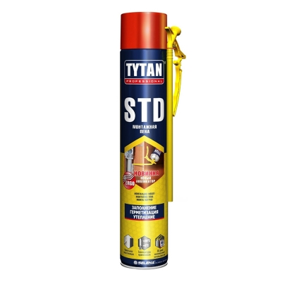 Пена монтажная Tytan Professional STD 750 мл
