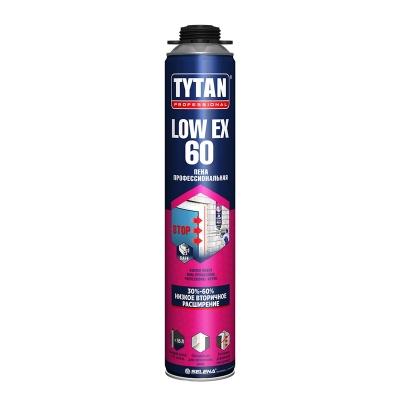 Пена монтажная Tytan Professional LOW-EXPANSION профессиональная 750 мл