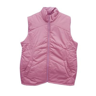 Жилет утепленный розовый размер 48-50