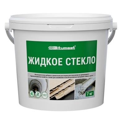 Жидкое стекло Bitumast, 7 кг