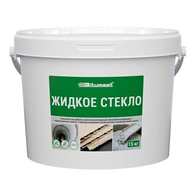 Жидкое стекло Bitumast, 15 кг