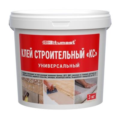 Клей строительный  Bitumast  (3 кг)