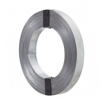 Лента упаковочная 0.5х20 мм (50 м) цинк без перфорации
