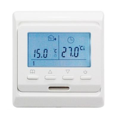 Терморегулятор для теплого пола электронный программируемый E53.716 (3.5 кВт)