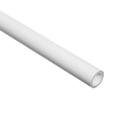 Труба PP-ALUX армированная алюминием PN 25, 25 мм (белая, 2 м) Valtec