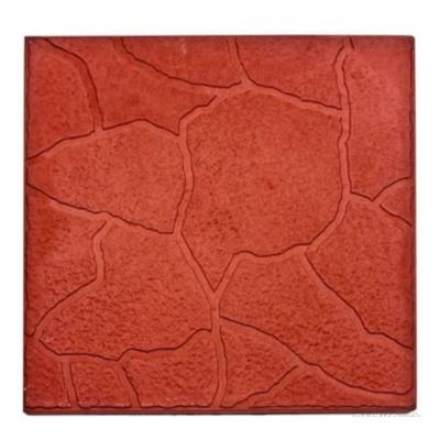 Плитка тротуарная Тучка 30х300х300 мм красная