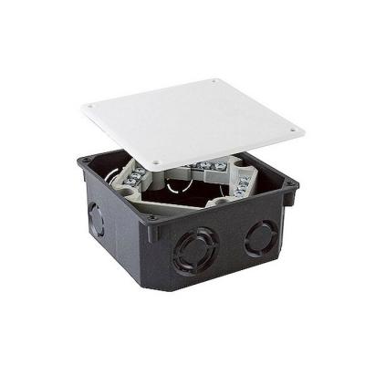 Коробка распределительная (распаячная) СП 110х110х50 мм черная TDM ЕLECTRIC