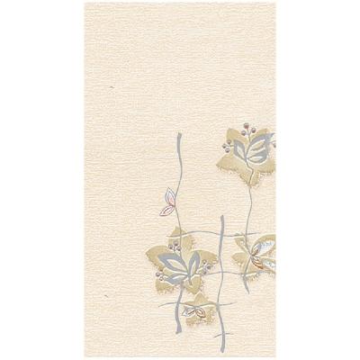 Панель ПВХ 250х2700 мм Фарн №158 орхидея серебристая (серебро) Центурион