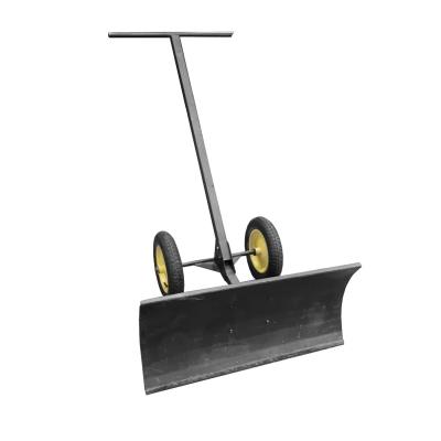 Движок для уборки снега на колесах