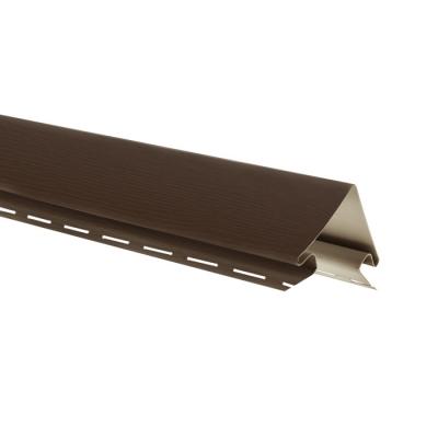 Угол наружный для сайдинга Grand Line 3000 мм (коричневый)