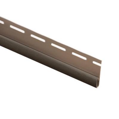 Планка финишная Grand Line 3000 мм (коричневая)