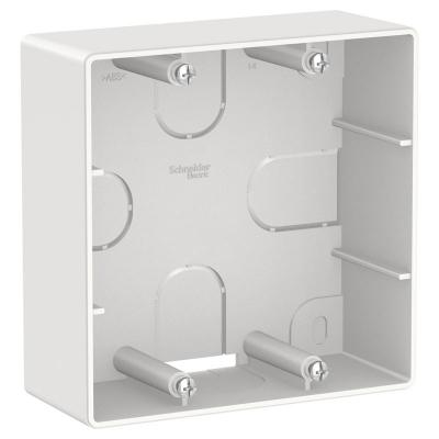 Коробка подъемная СП BLANCA для силовых розеток бел. SchE BLNPK000021