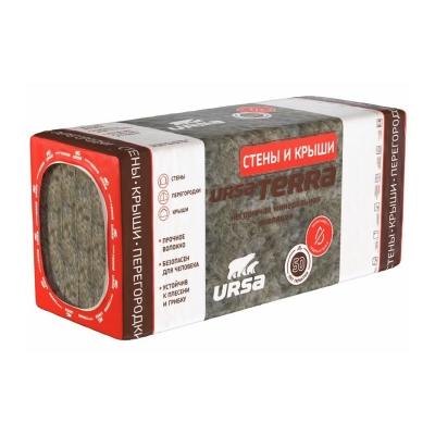 Утеплитель URSA TERRA 36PN 100х610х1250 мм (3,81 м²)
