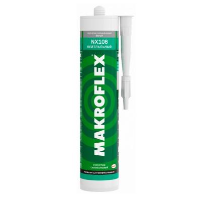 Герметик нейтральный Makroflex NX108 силиконовый белый (290 мл)