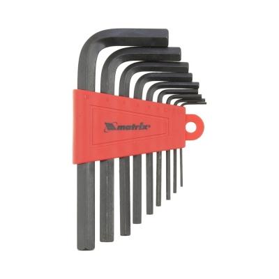 Набор ключей шестигранных 9 шт CrV (1.5-10 мм) MATRIX