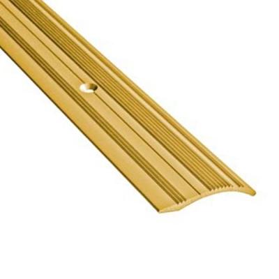 Порог разноуровневый C4 39х900 мм золотой (перепад 0-12 мм)