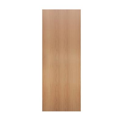 Дверное полотно Олови миланский орех 35х700х2000 мм ламинированное глухое с фурнитурой