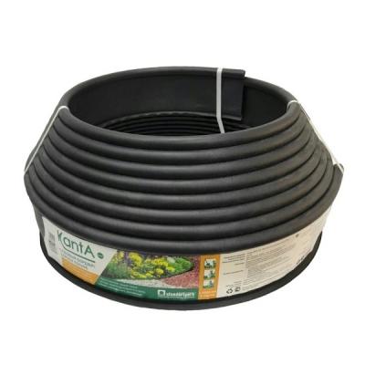 Бордюр KANTA SP Б-1000.10.02-ПП пластиковый черный