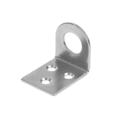 Проушина (пробой-ушко) гнутая 40х75 мм цинк (2 шт)