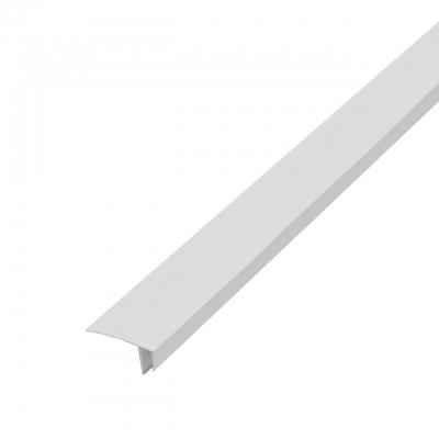 Профиль F-образный 3000 мм белый