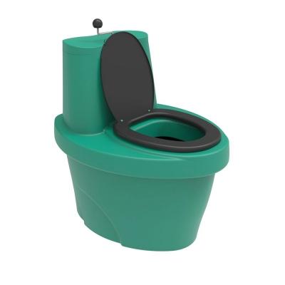 Биотуалет торфяной компостирующий Rostok зеленый