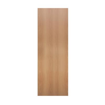 Дверное полотно Олови миланский орех 35х600х2000 мм ламинированное глухое с фурнитурой УЦЕНКА*