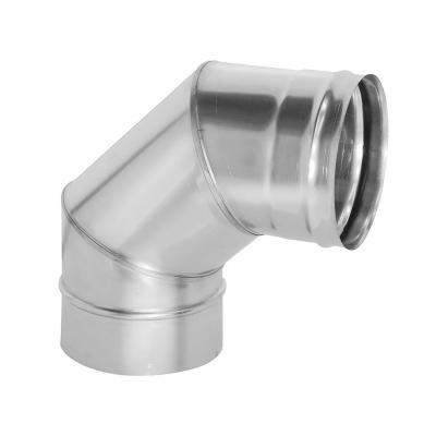 Колено 90° (AISI 430, 0.8 мм) d-150 мм