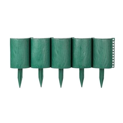 Ограждение Садовый конструктор высота 150мм, 3 метра, зеленый
